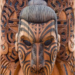 Maori carving — Stock Photo #2054723