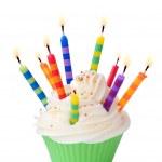 Birthday cupcake — Stock Photo #2698330