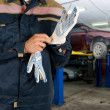 Auto mechanics — Stock Photo #4400674