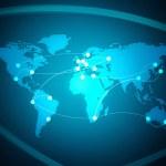 World Map — Stock Photo #7652803