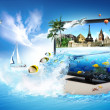 3D TV - world in your home — Stock Photo #6274182