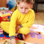 Cute child playing — Stock Photo #2274495