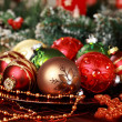 Christmas ornaments — Stockfoto #7471691