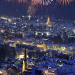 New year fireworks — Stock Photo #2435564