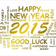 Word cloud for new year 2015 — Stock Photo #50197955