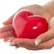 Heart in hands — Stock Photo #5587976