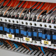 Electrical relays, breakers and ballasts — Stock Photo #2411182
