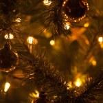 caldo Natale albero astratto di decorazione — Foto Stock #2352101