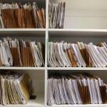 File Folders on Shelf — Stock Photo #2330061