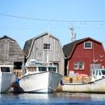 Lobster Boats — Stock Photo #2379015