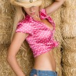 Sexy Cowgirl — Stock Photo #16627637