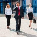 Business walking i — Stock Photo #6127225