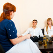 Married couple consults at the psychologist — Stock Photo #6928114