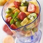 Fruit in blender — Stock Photo #8809025