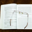 Book and glasses — Stock Photo #6769143