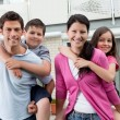 Beautiful young family together — Stock Photo #20230141