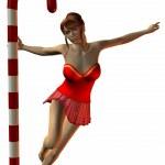 Sexy North Pole Dance — Stock Photo #2783076