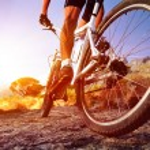 Moutain bike man — Stock Photo #28403577