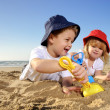 Fun at the beach — Stock Photo #3735436