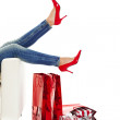 Sexy Red Shoes — Stock Photo #4938825