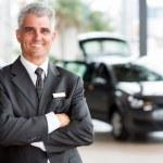 Senior car dealer principal — Stock Photo #42435907