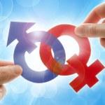 Gender symbols — Stock Photo #3306414