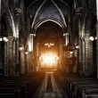 Sinister Gothic Cathedral — Stock Photo #23434388
