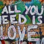 Lennon wall — Stock Photo #3094575