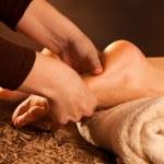Foot massage — Stock Photo #10215546