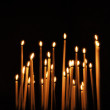 Candles in a church — Stock Photo #6777695