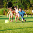 Kids with ball — Stock Photo #5775070