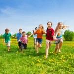 Kids racing — Stock Photo #28480889