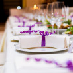 Wedding Table Decorations — Stock Photo #10207178