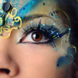 Beautiful eye make-up close-up — Stock Photo #7941353