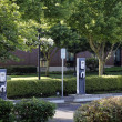 3 Electric Vehicle Charging Stations — Stock Photo #11992082