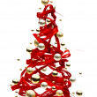 Christmas tree design — Foto de Stock   #7527483