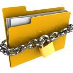Locked folder — Stock Photo #6046405