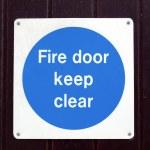 Fire door — Stock Photo #7362610