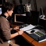 Radio dj — Foto de Stock   #5252177