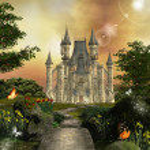 Замок — Стоковое фото #10932664
