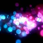 Multi Colored Light Burst — Stock fotografie #4357275