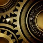 Metal gears — Stock Photo #4018147