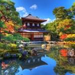 Ginkaku-ji Temple in Kyoto — Stock Photo #18311415