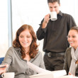 Business meeting - group of in office — Stock Photo #4694541