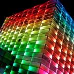 Multi Colored Building — Stock Photo #18302031