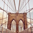 Brooklyn Bridge in New York — Stock Photo #13746984