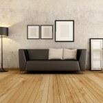 Living room — Stock Photo #7981667