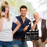 Busy Film Team — Stock Photo #13768147