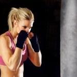 Fitness Boxing — Stock Photo #9579247