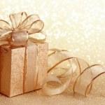Christmas gift box — Stock Photo #6030179
